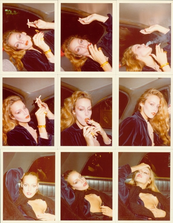 ANTONIO LOPEZ JERRY HALL NEW YORK CITY 1978