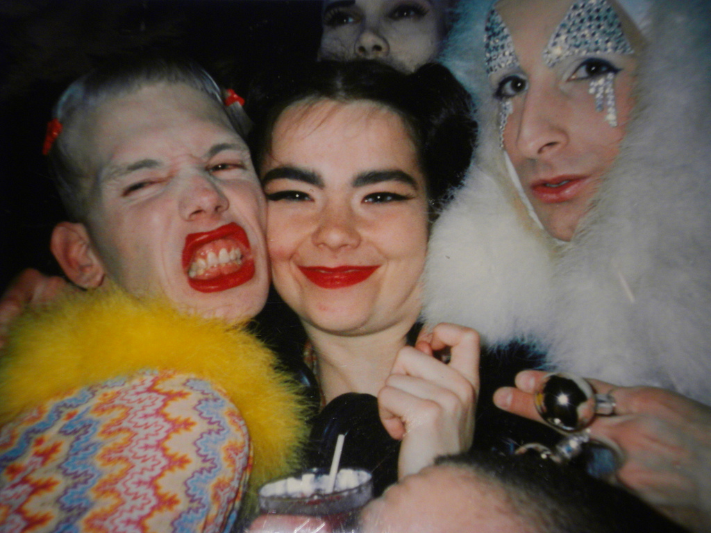 BJORK MICHEL ALIG AND JAMES ST JAMES CLUB KIDS NEW YORK CITY 90S