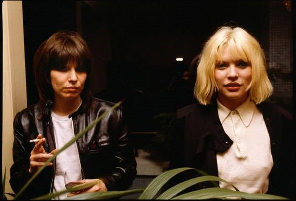 CHRIS STEIN CHRISSIE HYNDE AND DEBBIE HARRY 1978