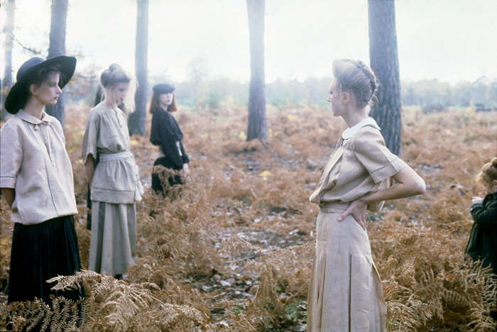 DEBORAH TURBEVILLE VALENTINO NORMANDY VOGUE ITALIA 1978