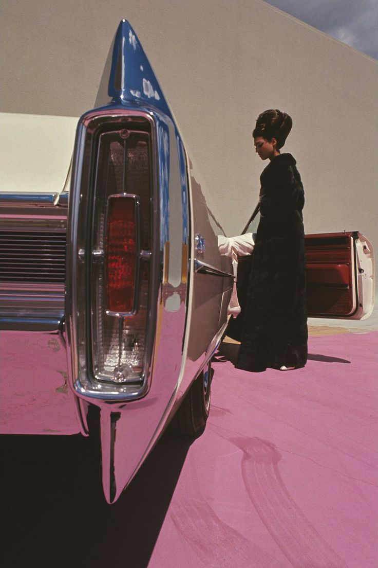 GENE LAURENTS CADILLAC DE VILLE VOGUE 1964