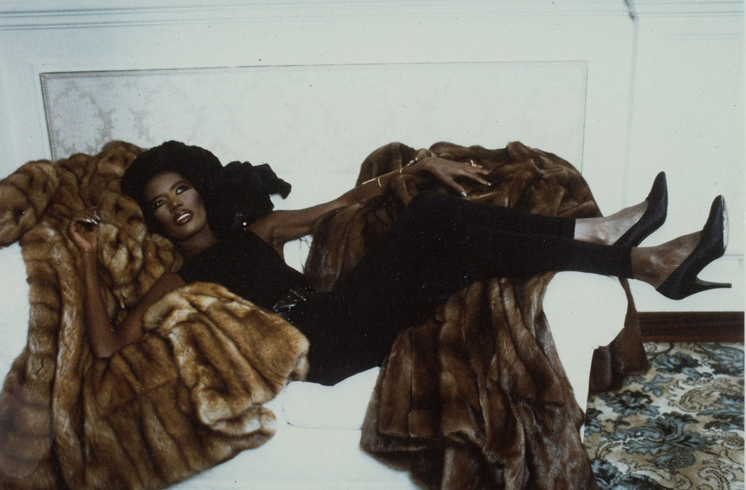 GRACE JONES FENDI ARCHIVE 1986 DAZED DIGITAL