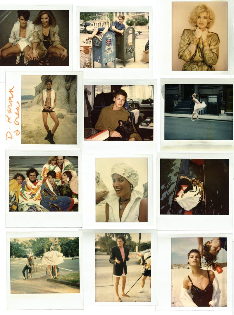 INGE FONTEYNE POLAROIDS 1987 1993 LETS PANIC MAGAZINE ISSUE 1 1