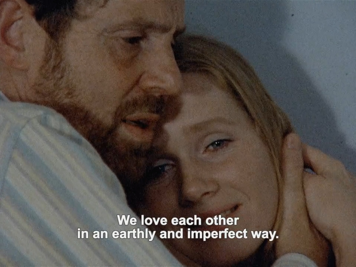 INGMAR BERGMANLIV ULLMANN AND ERLAND JOSEPHSON  SCENES FROM A MARRIAGE 1973
