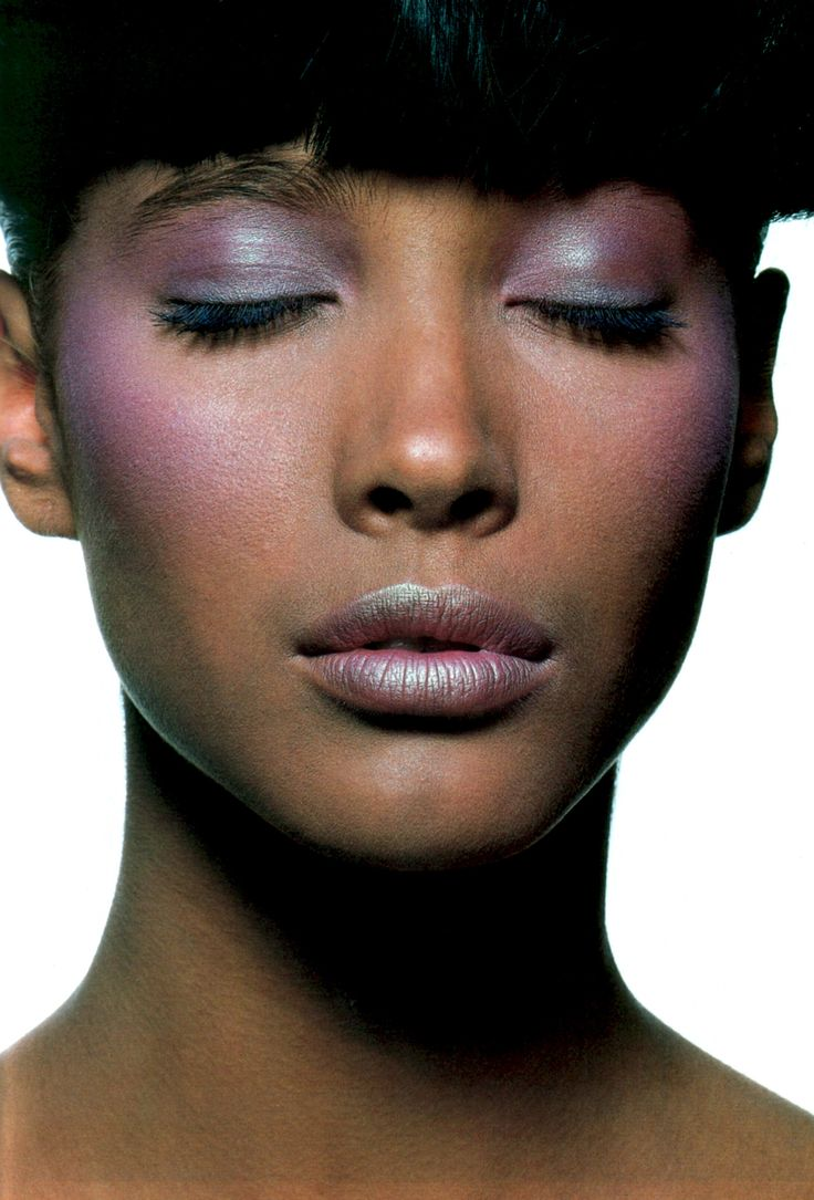 IRVING PENN CHRISTY TURLINGTON VOGUE US MARCH 1986