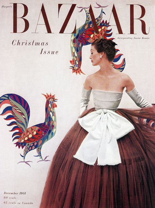 LOUIS DAHL-WOLFE MARY JANE RUSSELL WEARING BALENCIAGA HARPERS BAZAAR DECEMBER 1951
