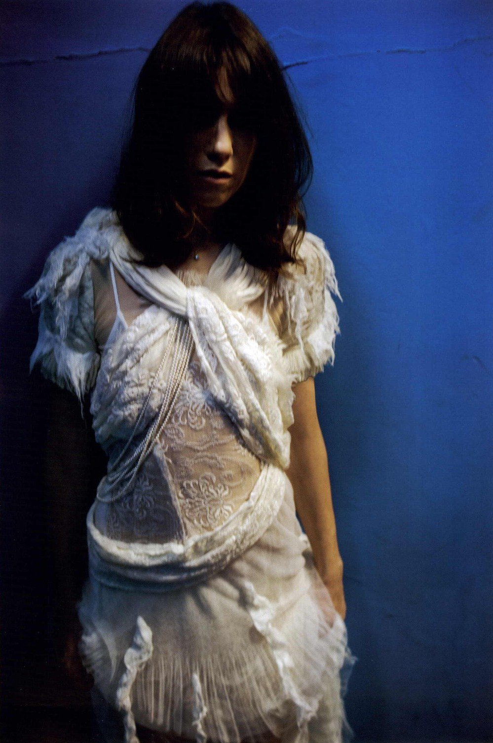 NAN GOLDIN CHARLOTTE GAINSBOURG LULA MAGAZINE FALL WINTER 2010-2011