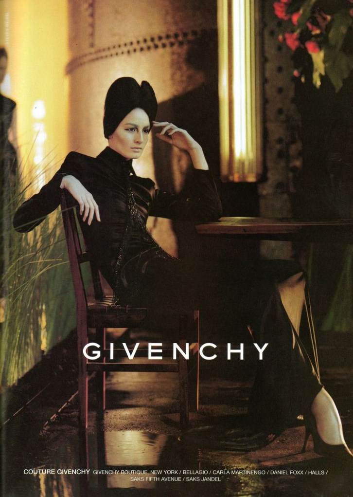 STEVEN MEISEL ERIN OCONNOR ALEXANDER MCQUEEN FOR IVENCHY FALL WINTER 1998 1