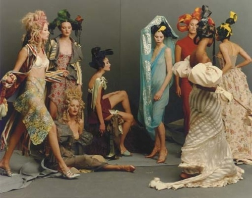 STEVEN MEISEL JOHN GALLIANO VOGUE US MARCH 1993