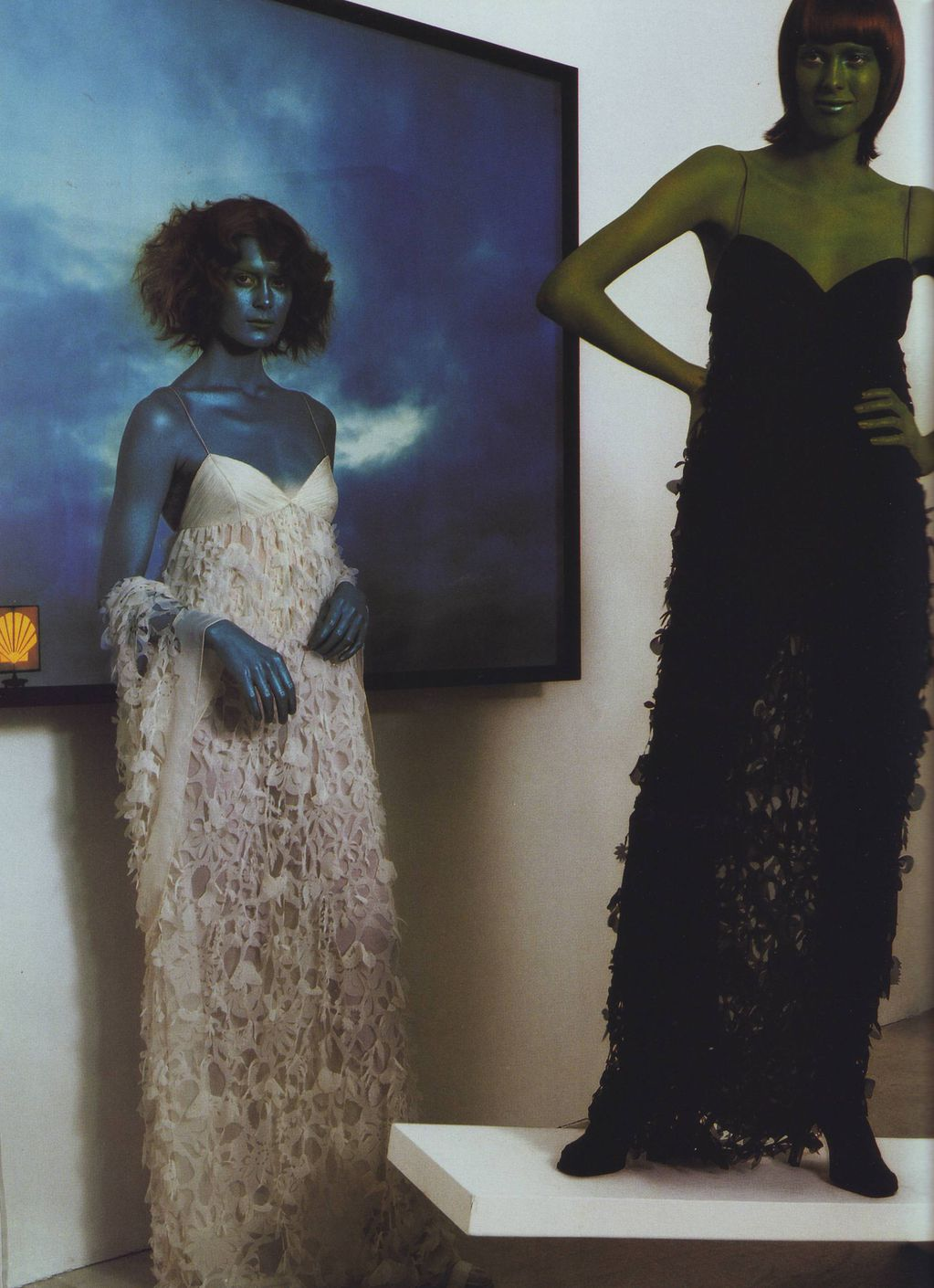 Vogue Italia March 1999 Couture report by Steven MEISEL 1