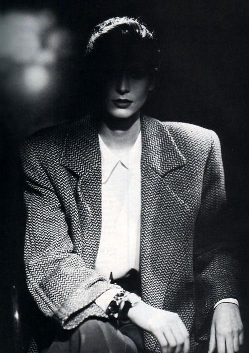 aldo fallai giorgio armani vogue us september 1987