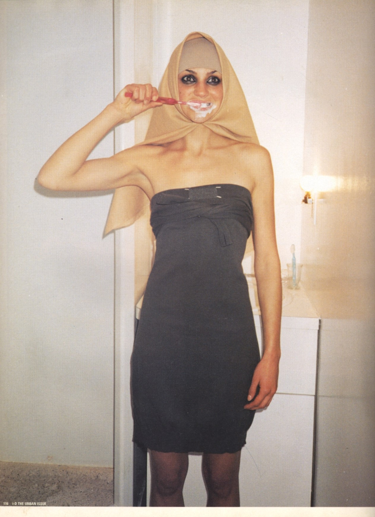 crystell photography terry richardson i d magazine no176 the urban issue june 1998