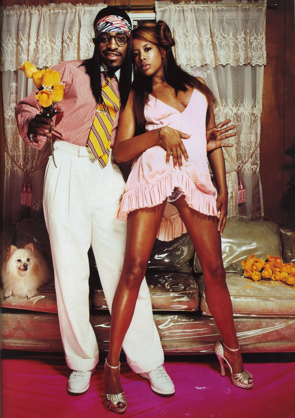 kelis and andre 3000 photography david lachapelle the face n 88 may 2004