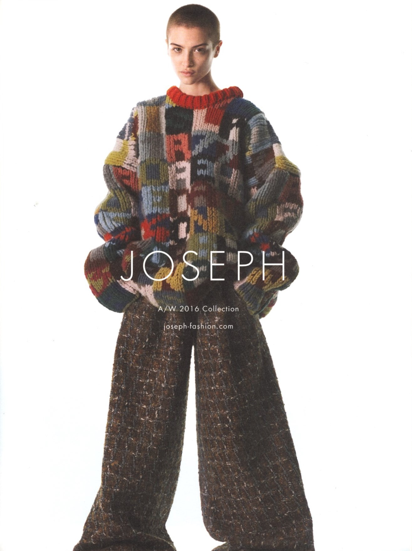 lera abova joseph ad campaign aw 2016 photography david sims