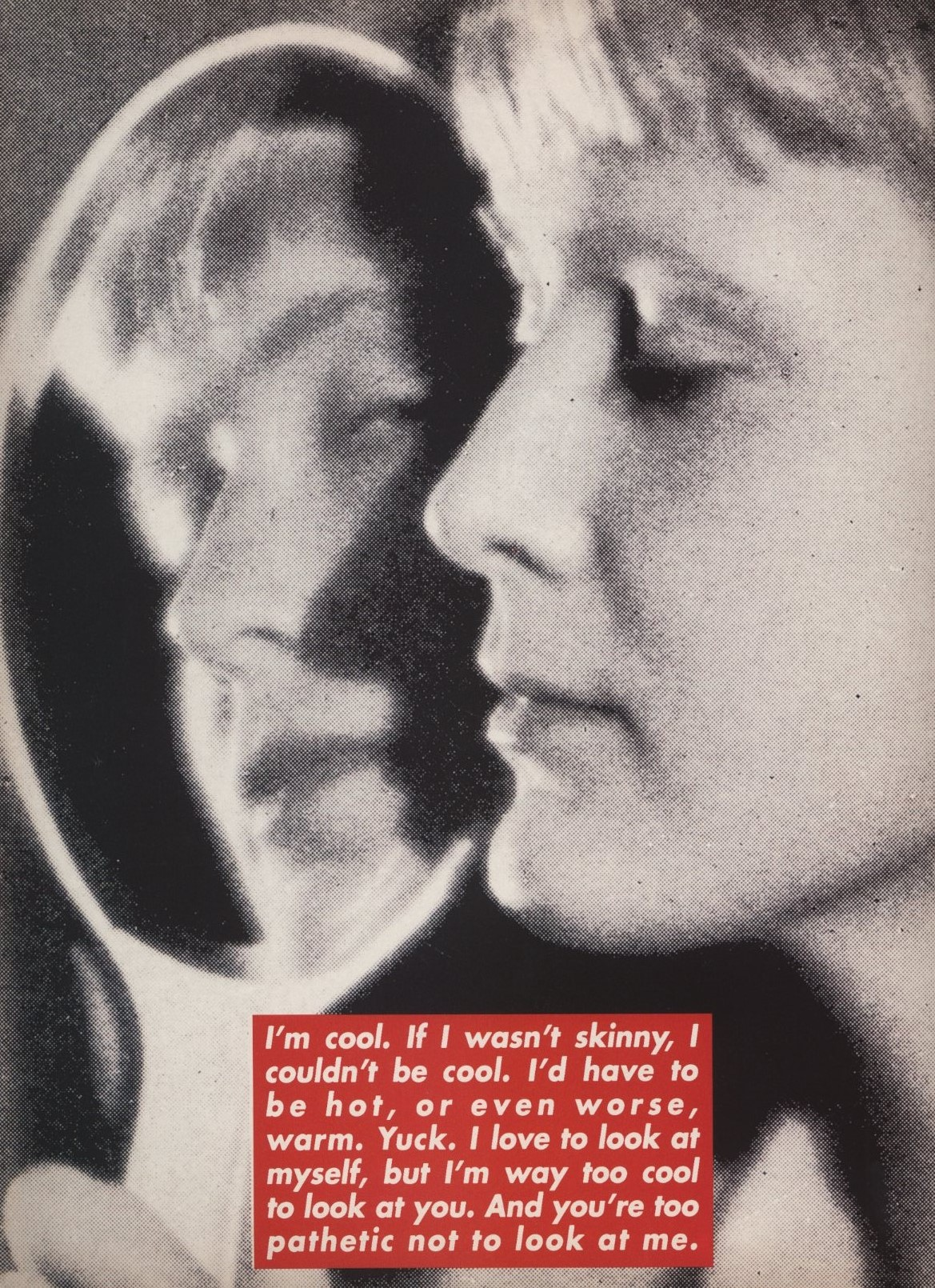 special artists project barbara kruger dazed and confused issue 21 june 1996