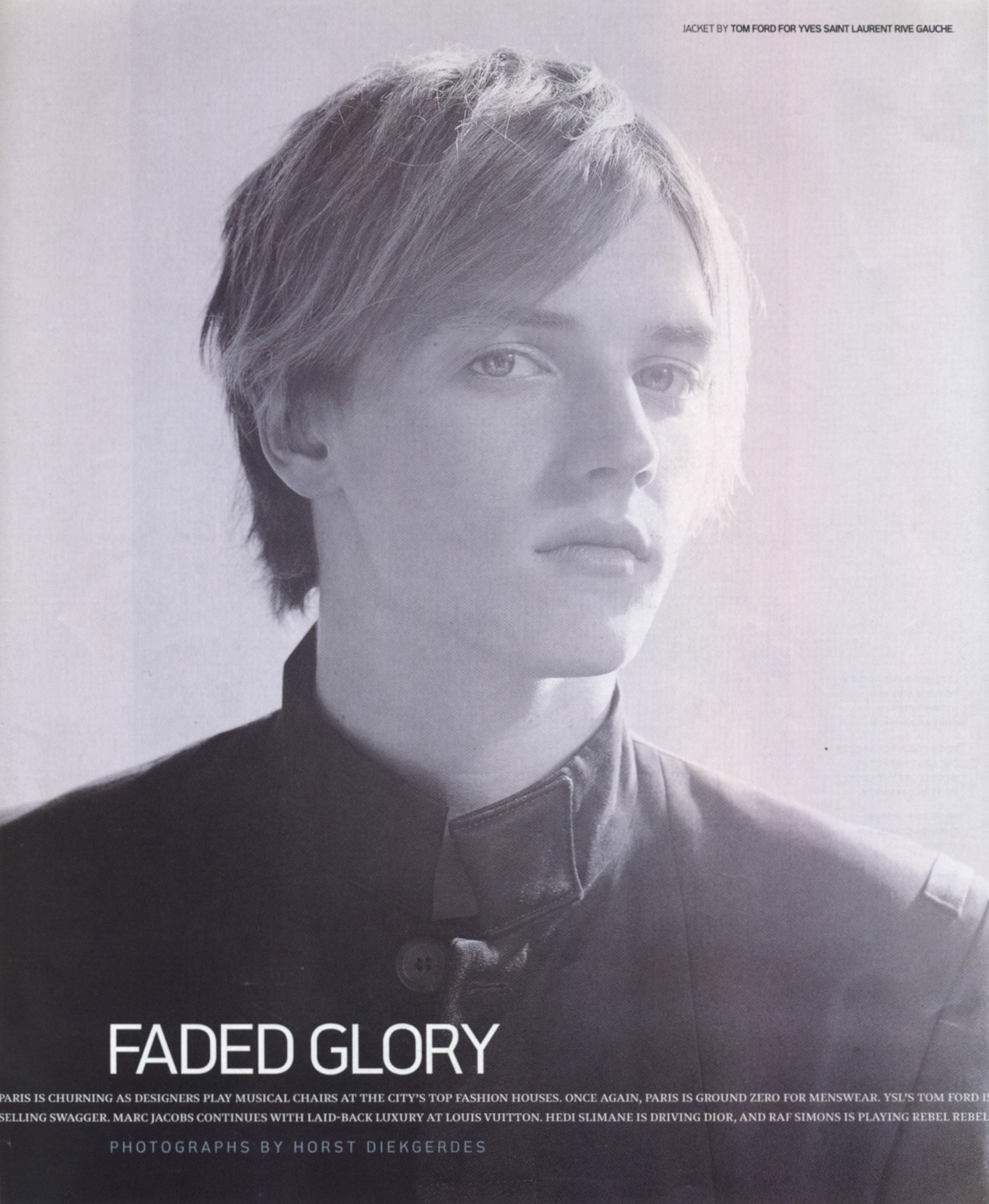 faded glory photography horst diekgerdes details may 2001 1
