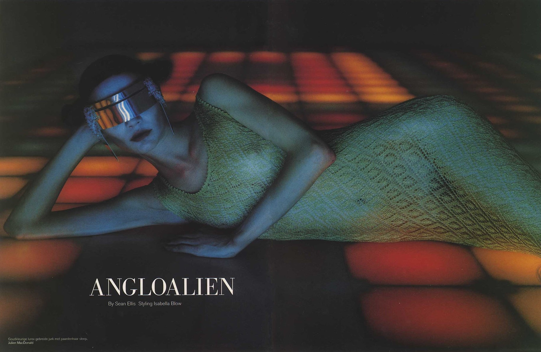 angloalien photography sean ellis styling isabella blow dutch 12 autumn 1997 1