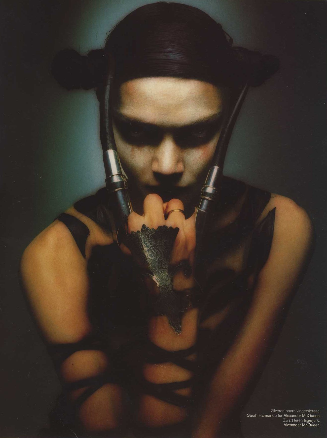 angloalien photography sean ellis styling isabella blow dutch 12 autumn 1997 3