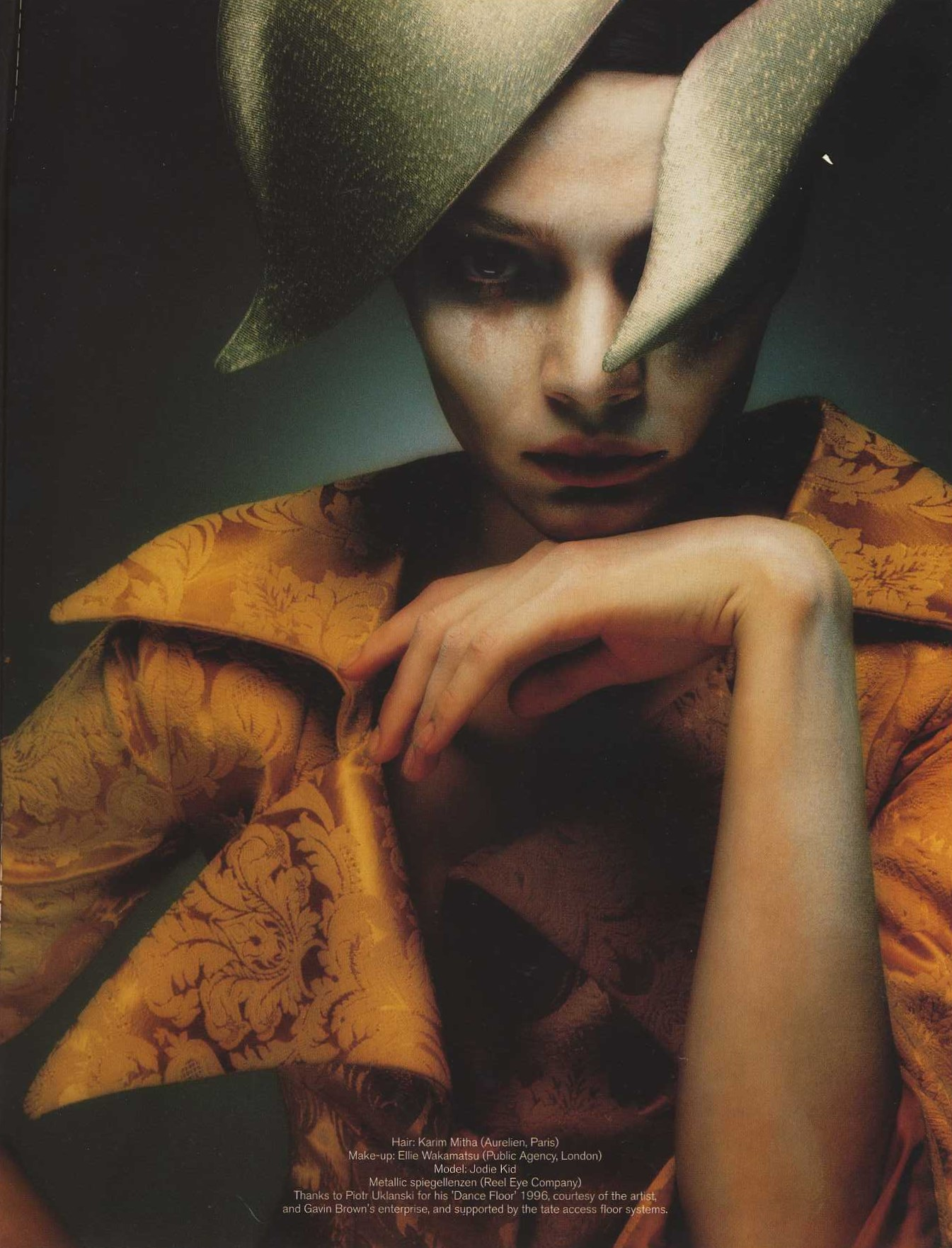 angloalien photography sean ellis styling isabella blow dutch 12 autumn 1997 5