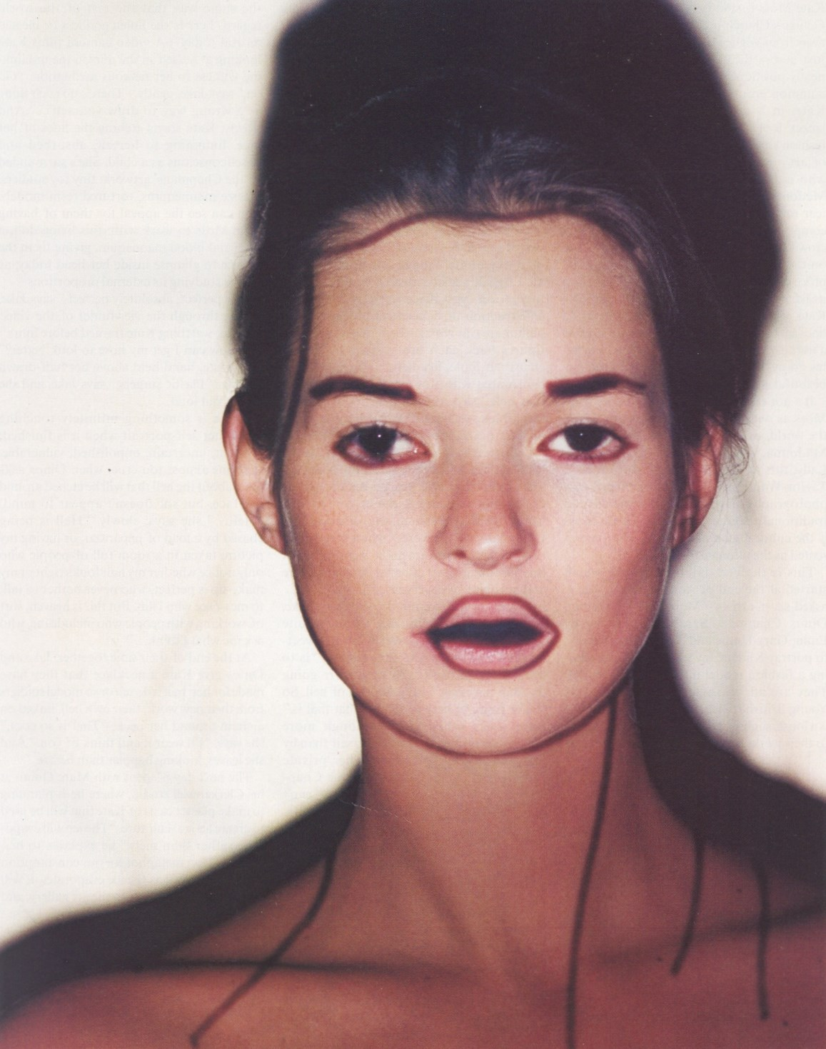 gary hume kate moss vogue uk may 2000