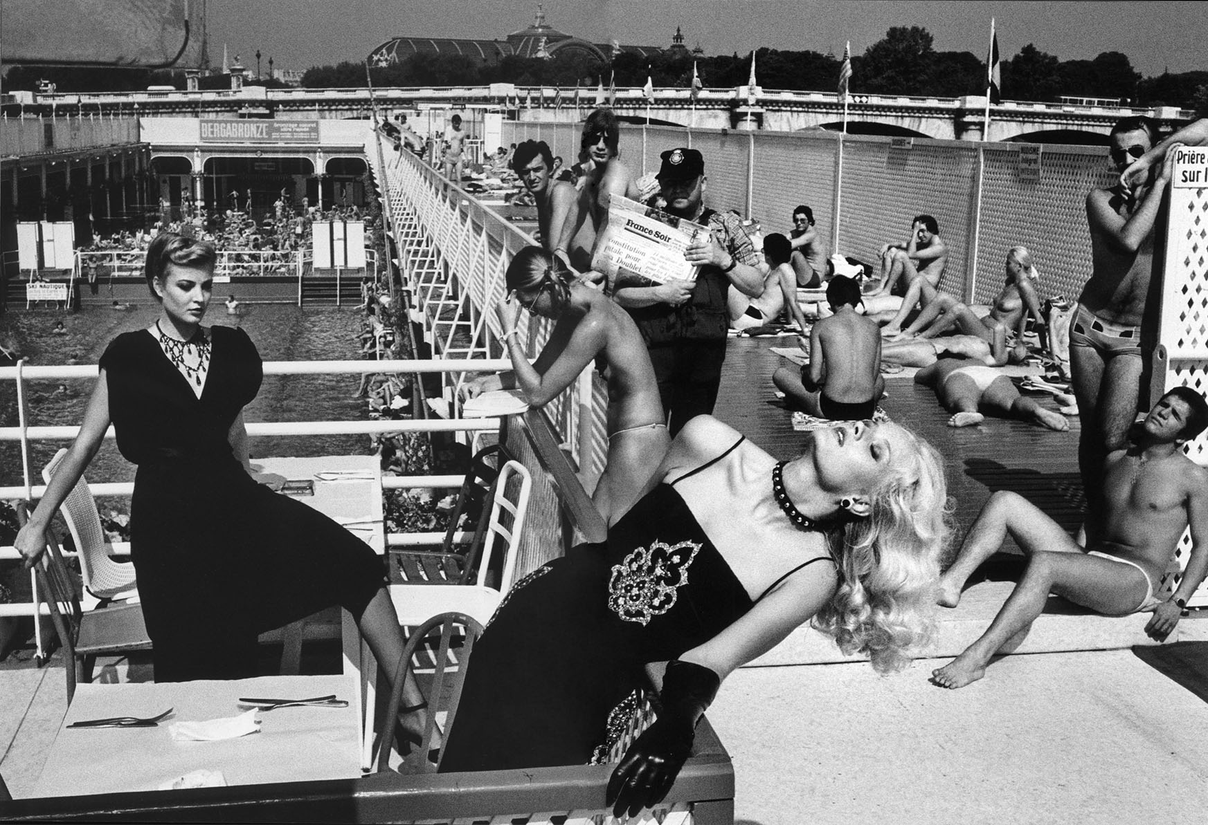 french vogue 1978 paris photography helmut newton