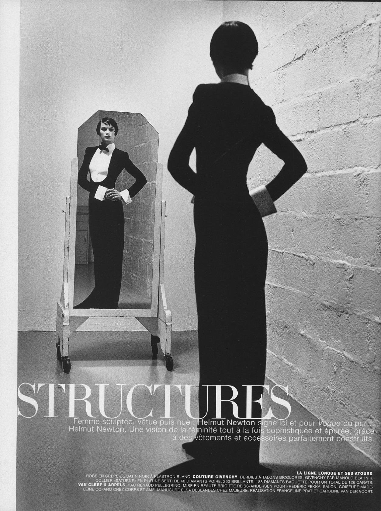 structures carolyn murphy photography helmut newton vogue paris n 777 may 1997 1