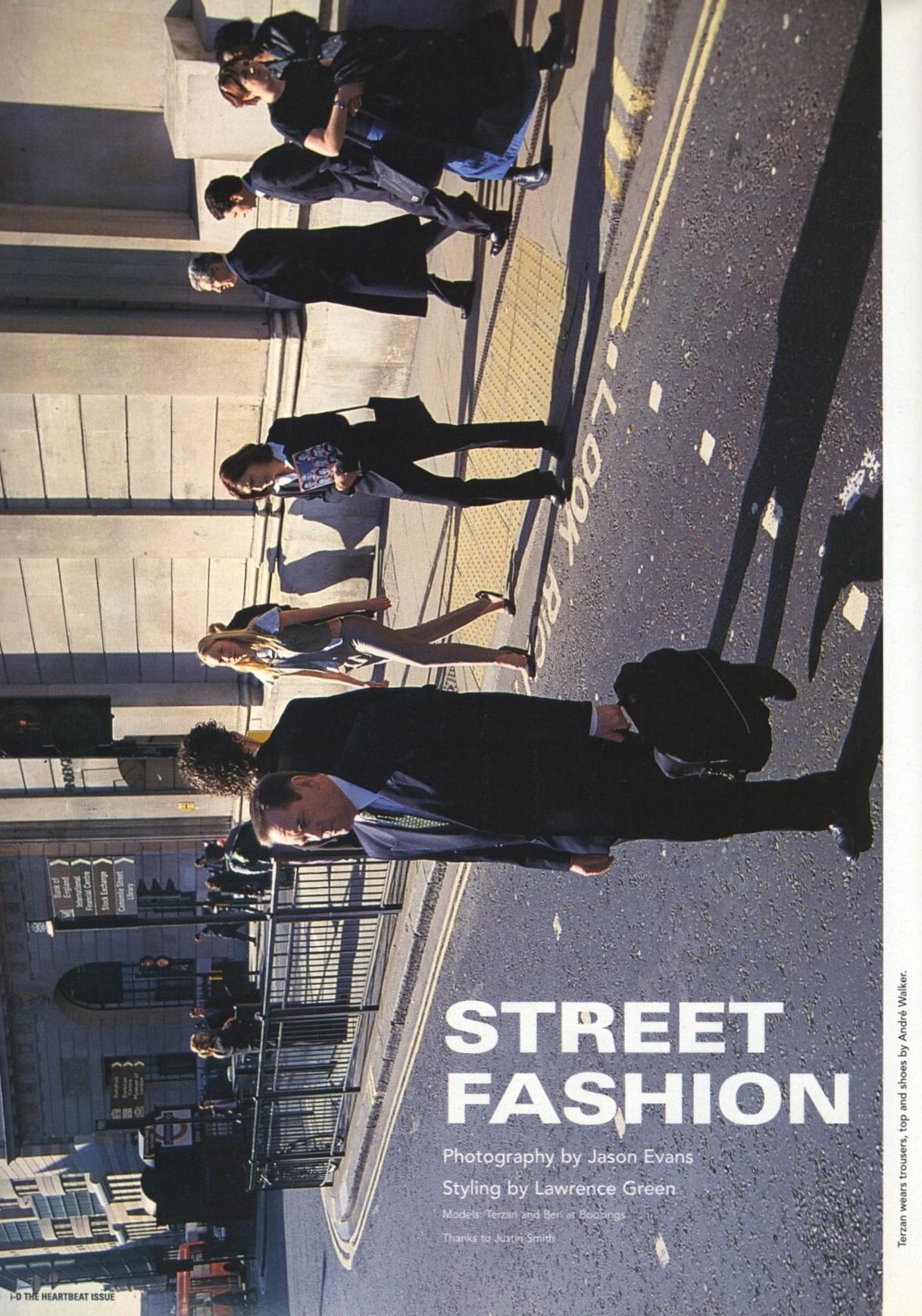 street fashion photography jason evans id magazine no 199 the heartbeat issue july 2000 1