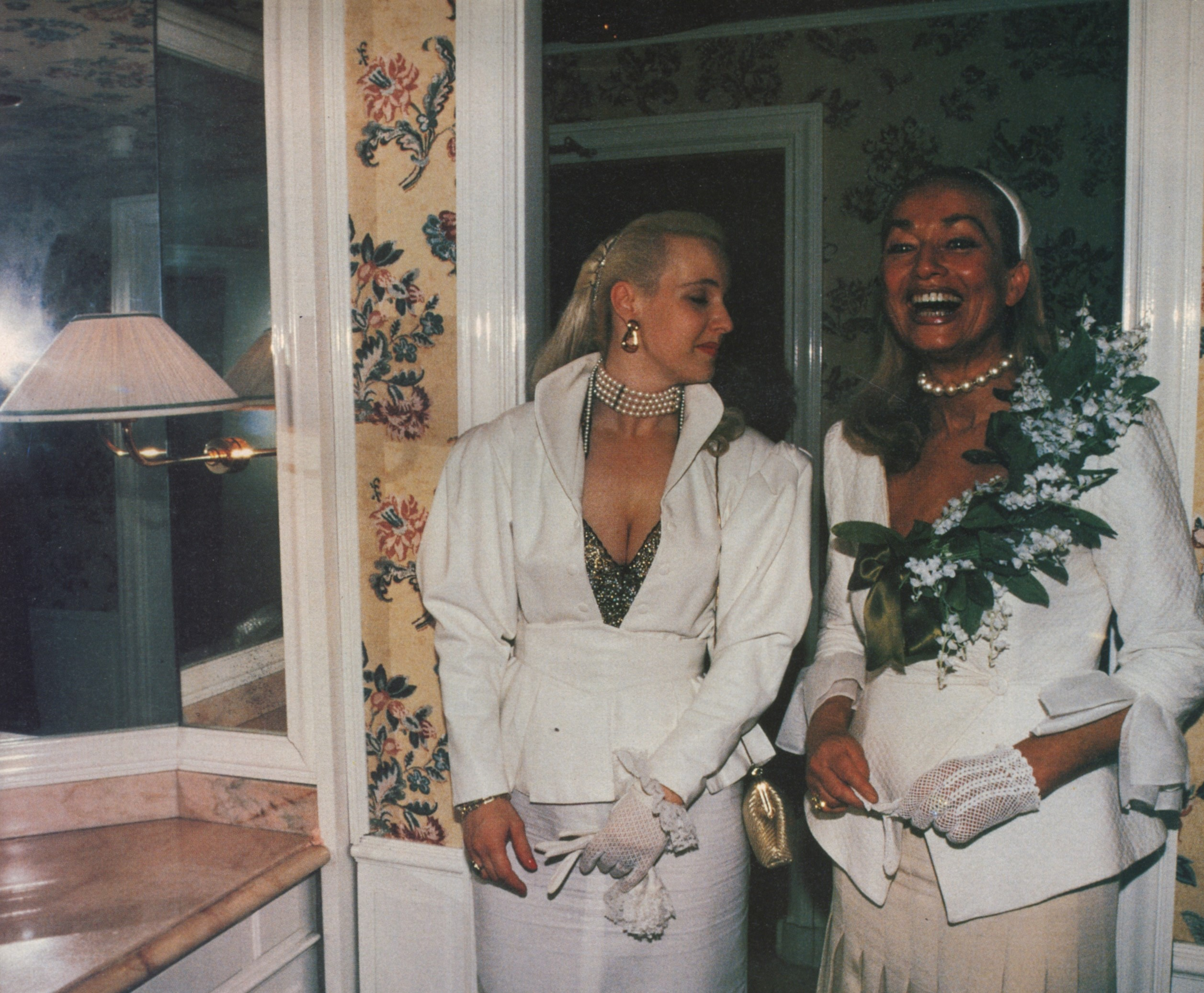 german princess and her lady in waiting carlton hotel cannes 1997 photography jessica craig martin id the bathroom issue no.205