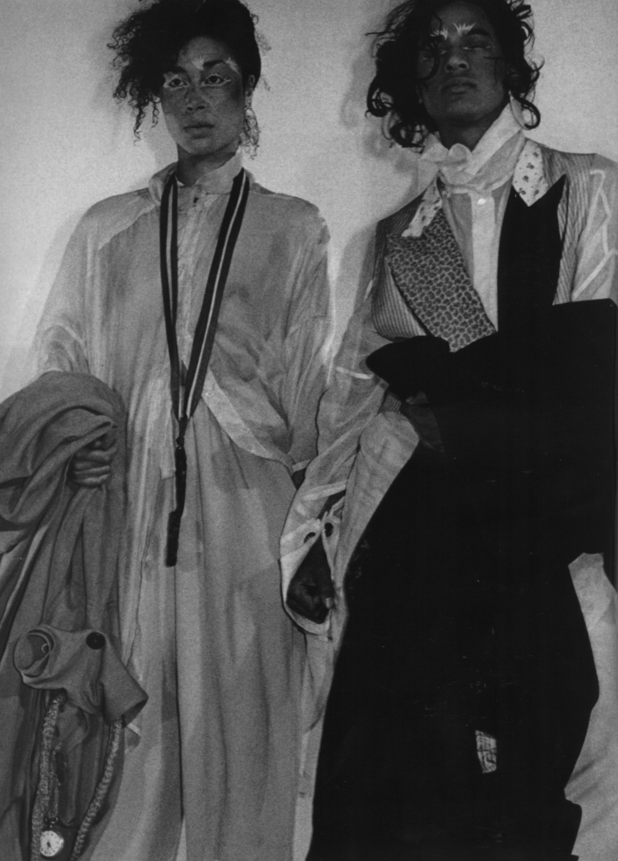 les incroyables john  galliano's graduate show st martins june 1984 london photography chris moore pop magazine aw 2003