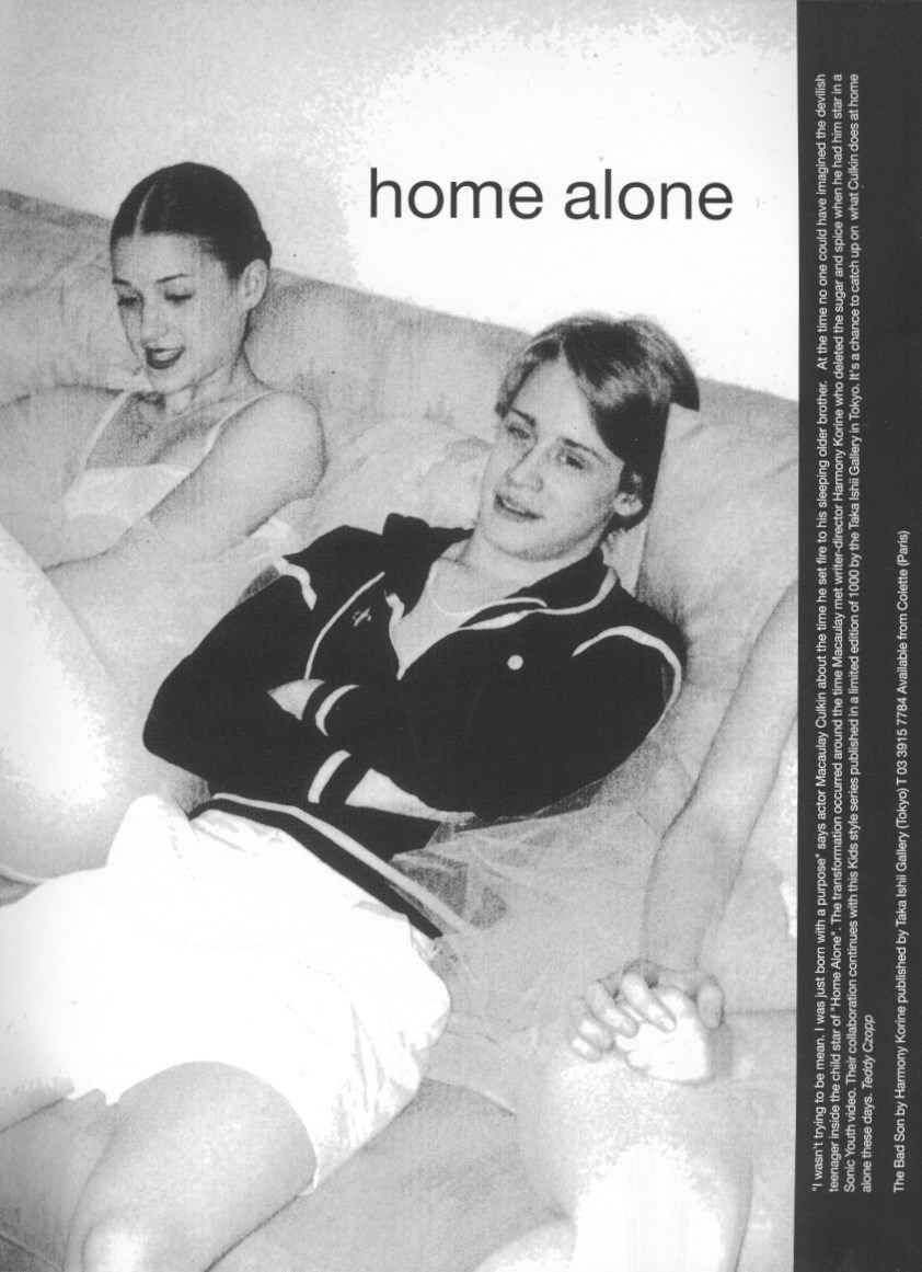 macaulay culkin photography harmony korine home alone dutch 25 january february 2000