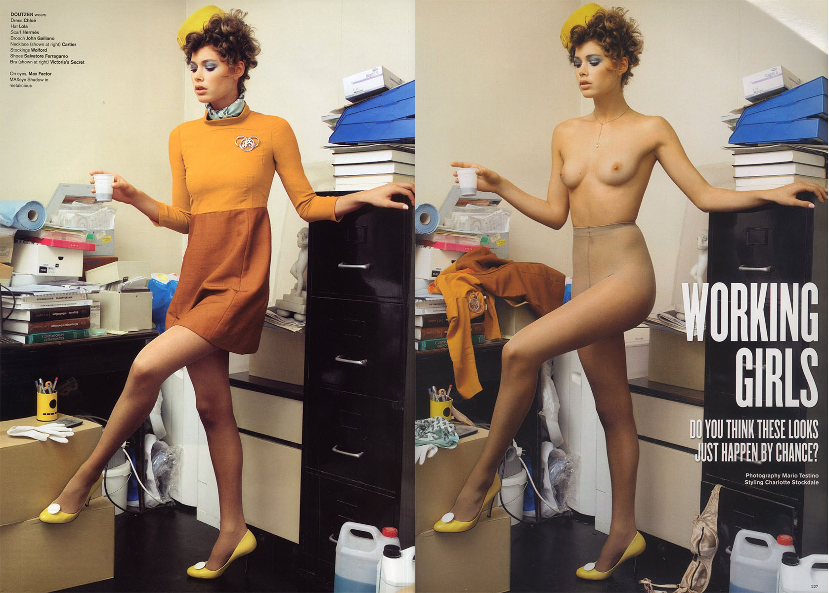 working girls photography mario testino v 46 spring 2007 1 2