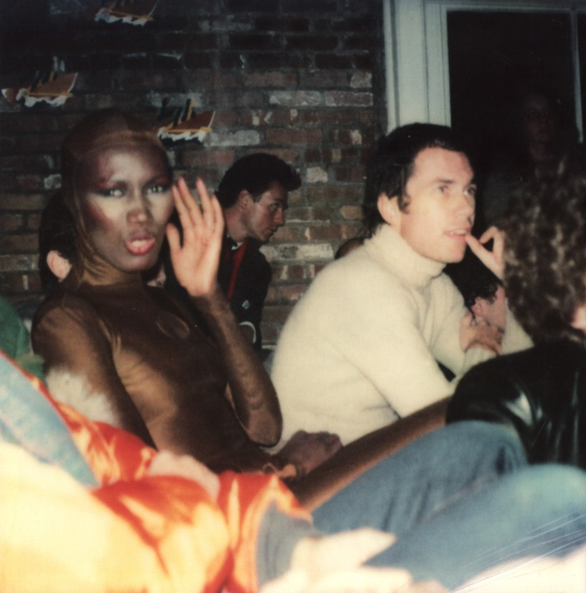 grace jones and jean paul goude photography maripol maripolarama polaroids by maripol book