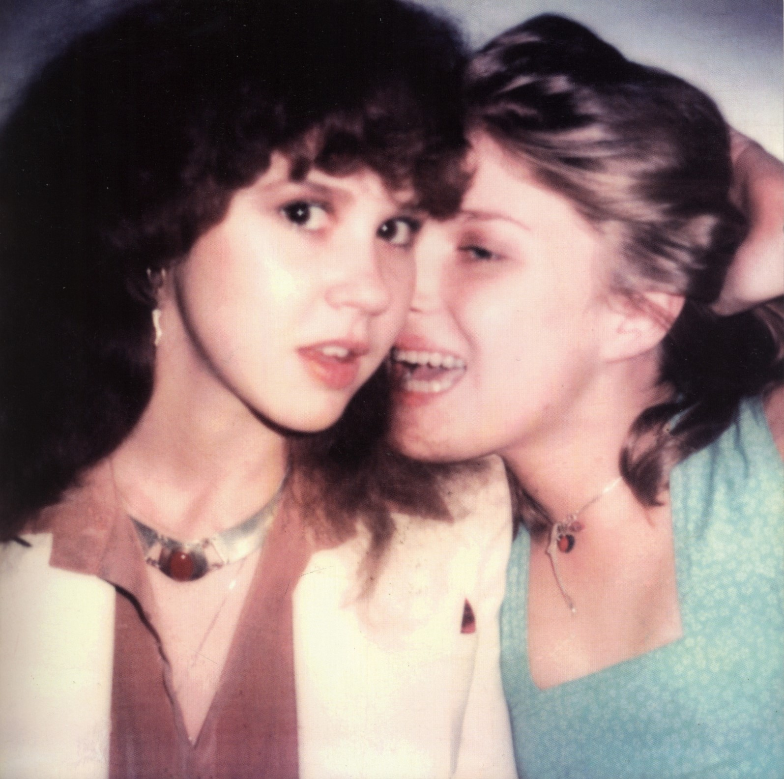 linda blair and taya de menil photography maripol maripolarama polaroids by maripol book