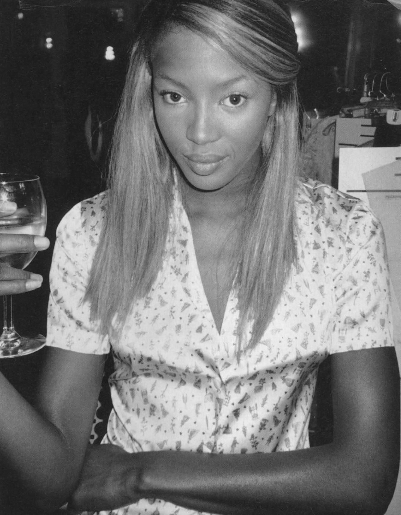 naomi campbell photography terry richardson marc jacpobs fashion show new york i d magazine no.148 january 1996