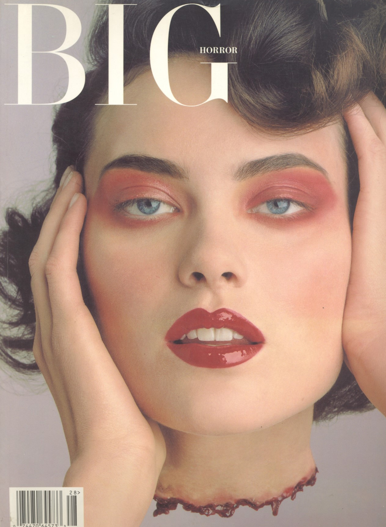shalom harlow photography phil poynter big horror issue 28