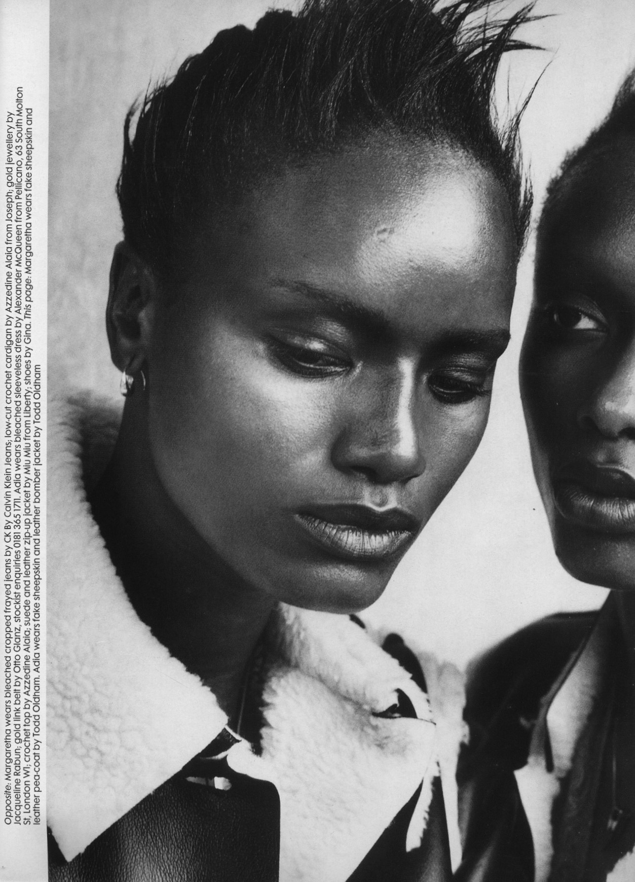 south side photography peter lindbergh the face no 98 november 1996