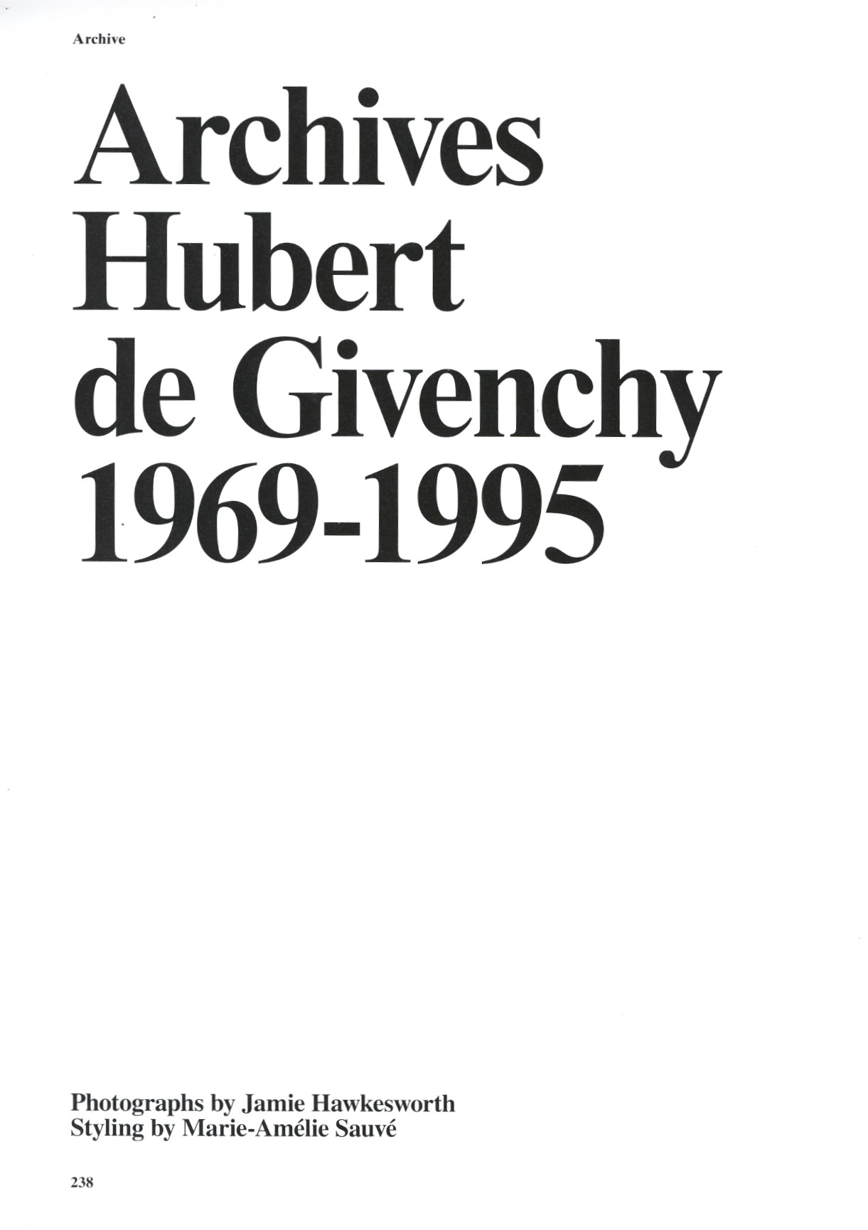 archives hubert de givenchy 1969 1995 photography jamie hawkesworth system issue n6 a w 2015 1