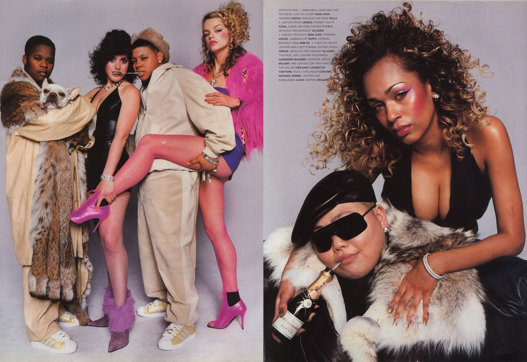 gang bang photography terry richardson stylist jason farrer vogue hommes international fw 2001 02 2