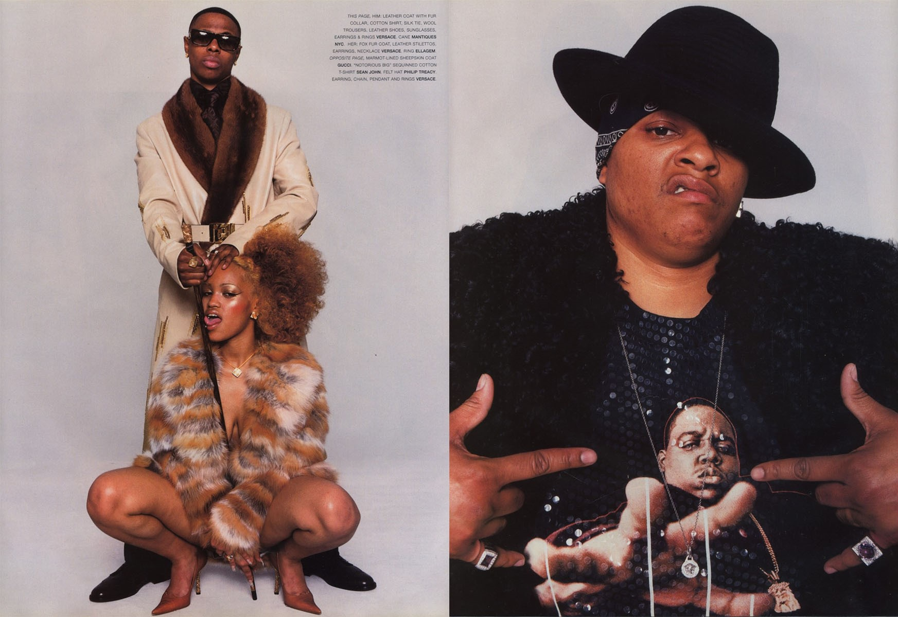 gang bang photography terry richardson stylist jason farrer vogue hommes international fw 2001 02 4