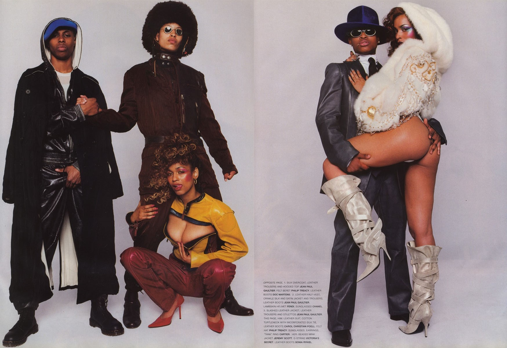 gang bang photography terry richardson stylist jason farrer vogue hommes international fw 2001 02 5