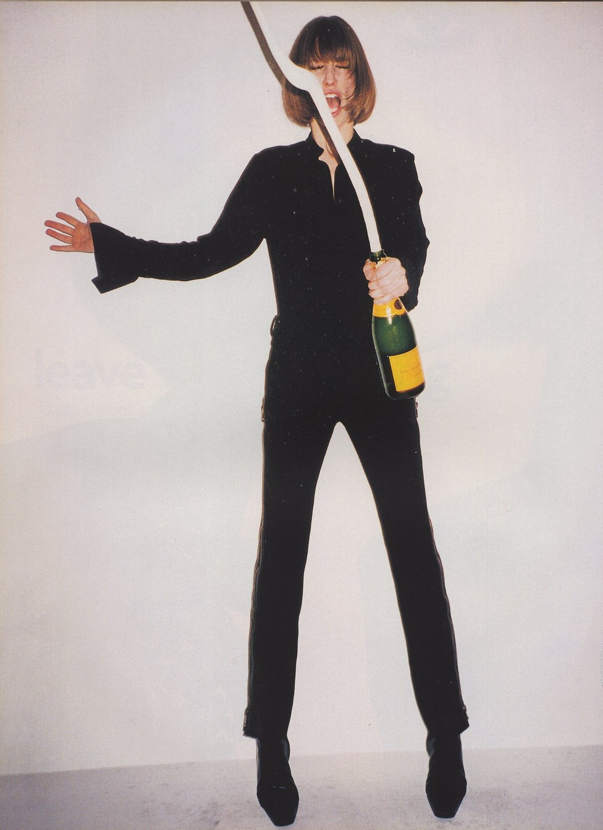 leave me standing natasa vojnovic photography terry richardson vogue uk october 2001 2