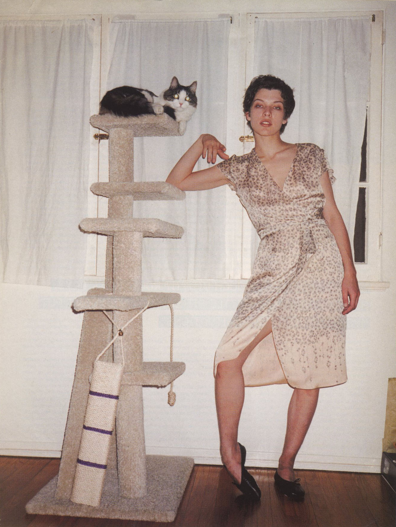 milla jovovich photography terry richardson dazed june 1999