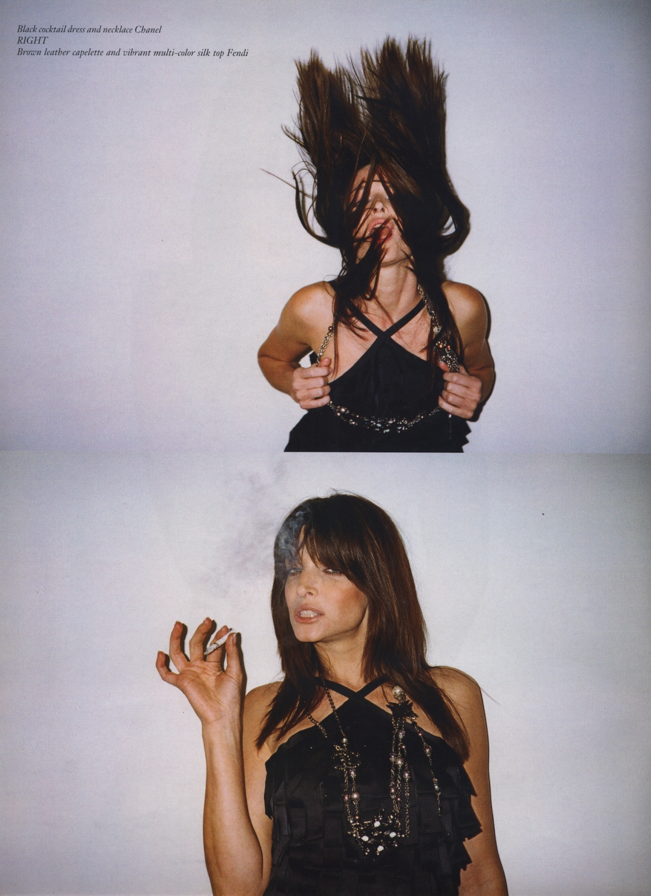 Stephanie Seymour Photography Terry Richardson Purple