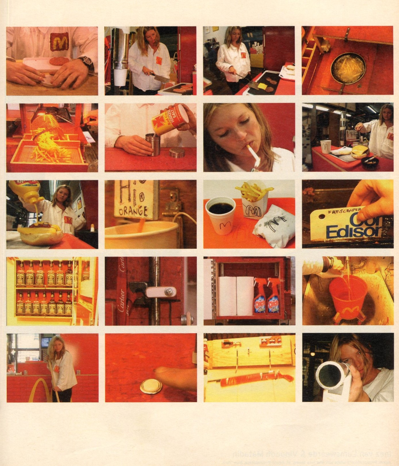kate moss photography tom sachs w september 2003
