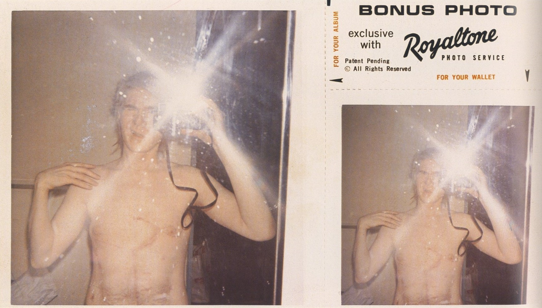 andy warhol polaroid self portrait columbus hospital new york 1968