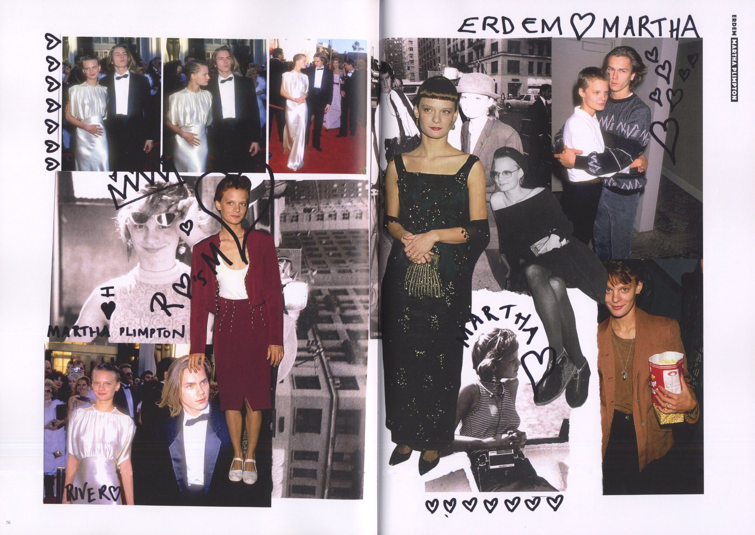 erdem martha plimpton fanpages issue 2
