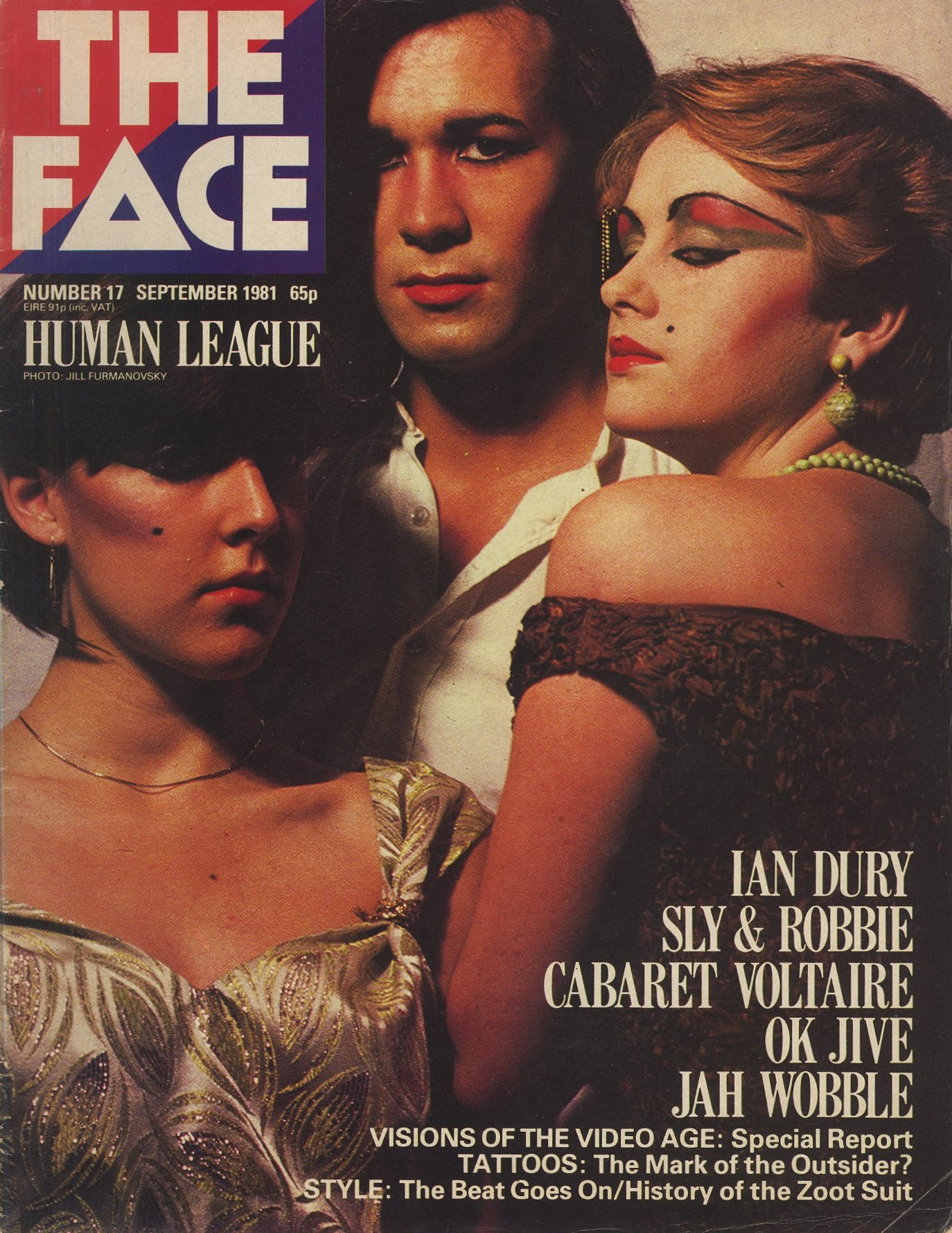human league photography jill furmanovsky the face number 17 september 1981
