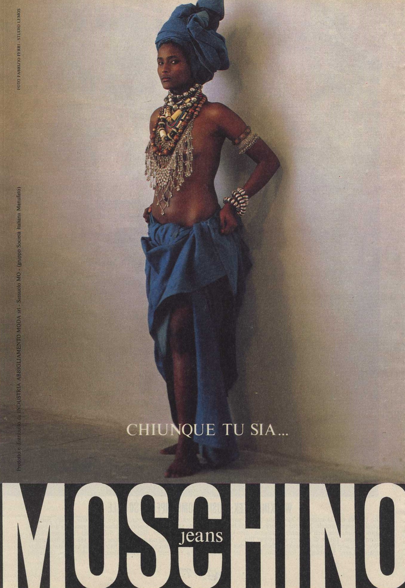 moschino jeans ad campaign photography fabrizio ferri max march 1988 2
