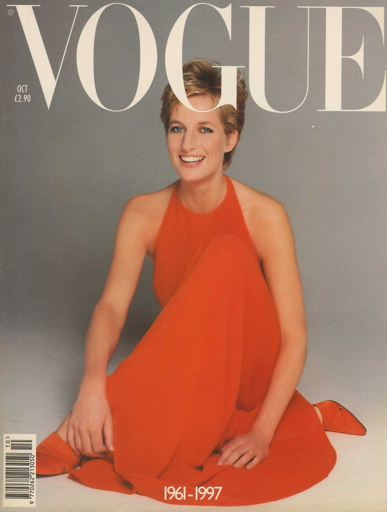 diana princess of wales photography patrick demarchelier 1994 british vogue october 1997