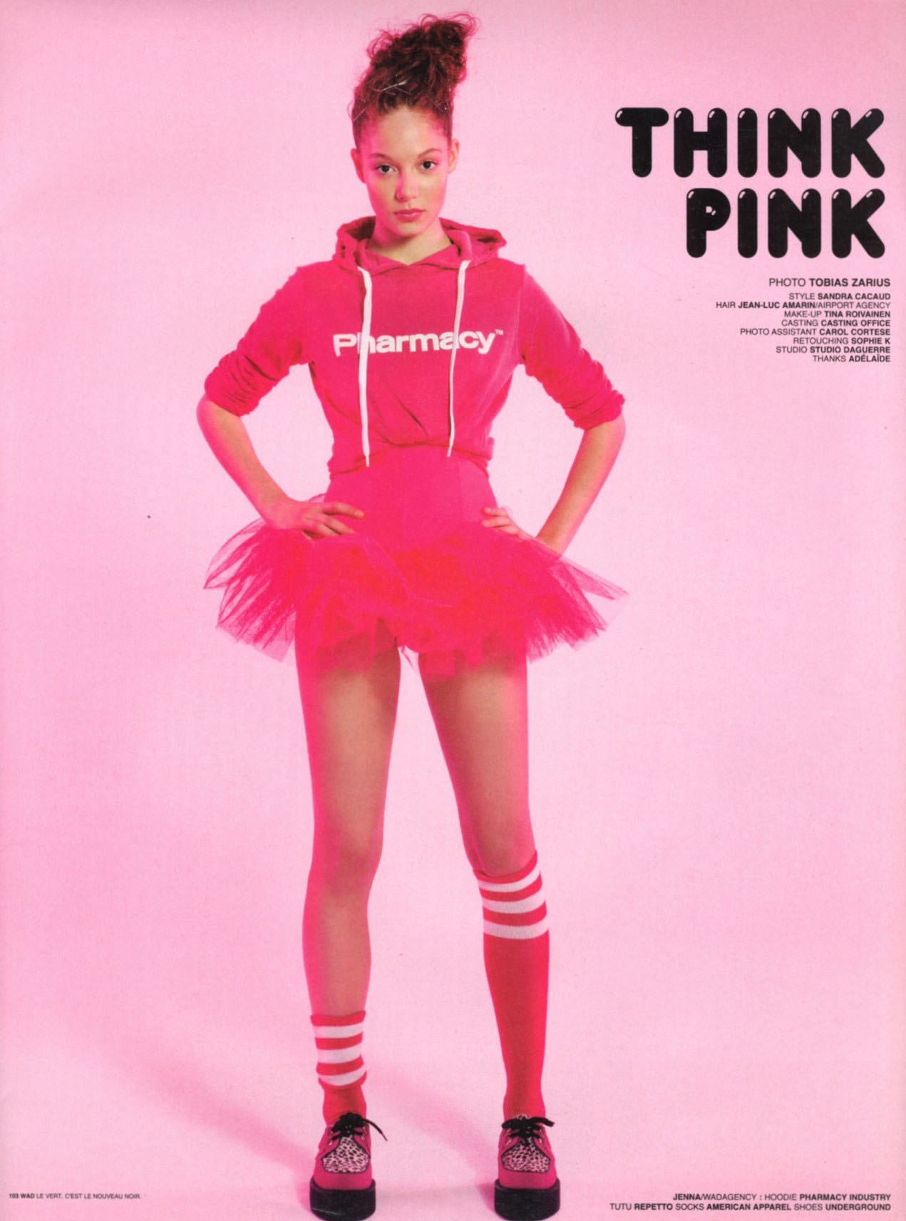 think pink photography tobias zarius style sandra cacaud wad june july august 2007 1